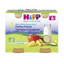 Hipp - 2 Petits pots Petites pennes/Légumes