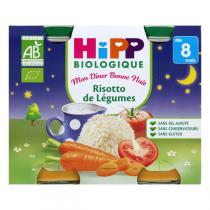 HiPP - Organic Vegetable Risotto x2 190g