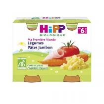 Hipp - Pots légumes pâtes jambon dès 6 mois 2x190g