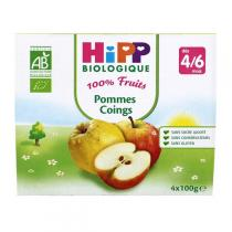 HiPP - 4 Cups Apple - Quince x100g