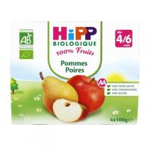 HiPP - 4 Cups Apple-Pear x100g