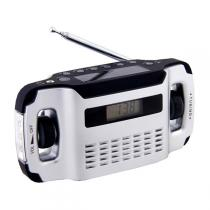 Power Plus - Lynx Solar Dynamo Radio with alarm clock