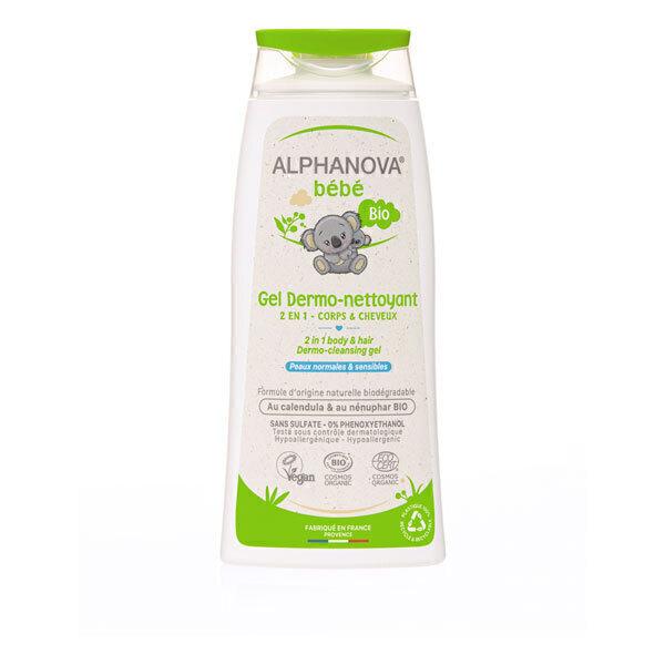 Alphanova - Gel moussant Dermo nettoyant 200 mL