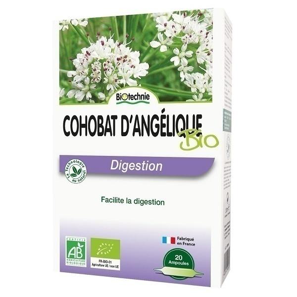 Biotechnie - Cohobat d'Angélique Bio 20 ampoules