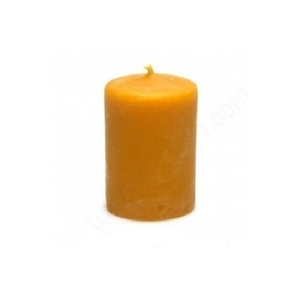 Ecodis - Candela Cilindrica Cera 8 x 5,5 cm