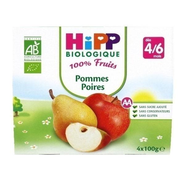HiPP - 4 Cups Apple-Pear x100g