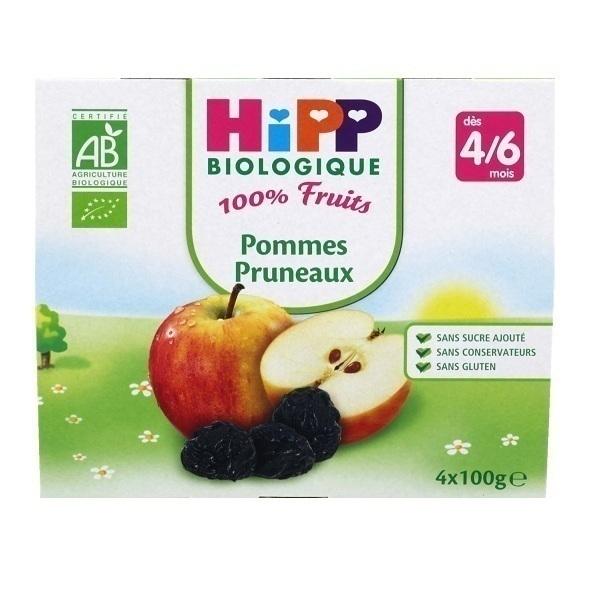 HiPP - 4 Cups Apple - Prune x100g