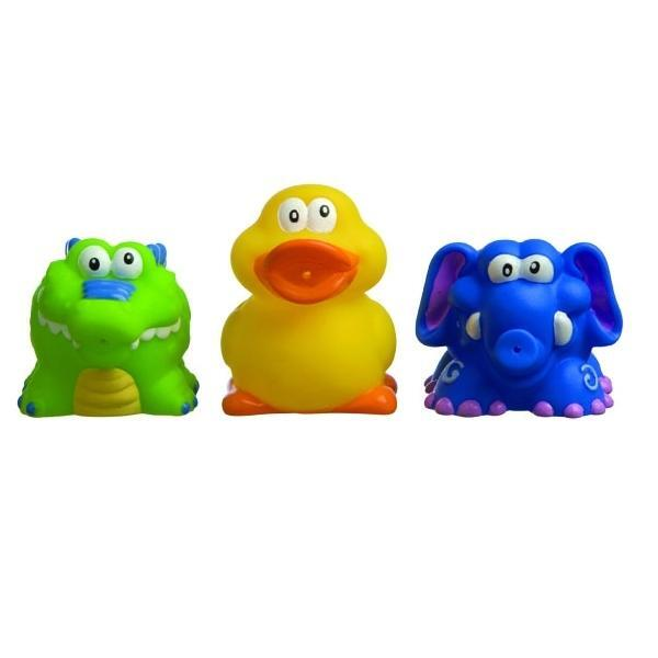 Nuby - 3 Bath Toys Bath squirters