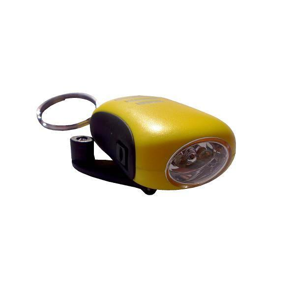bee mini dynamo led torch keychain powerplus shop. Black Bedroom Furniture Sets. Home Design Ideas