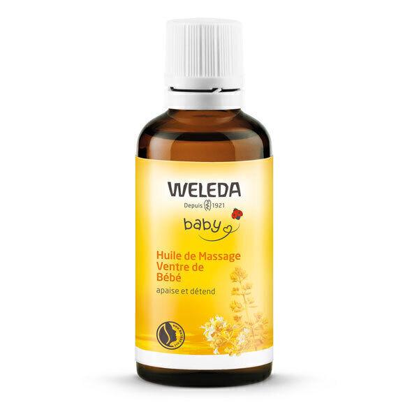 Weleda - Huile de Massage Ventre de Bébé 50ml