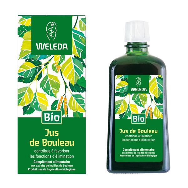 Jus de Bouleau Bio 200 ml Weleda | Acheter sur Greenweez.com