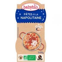 Babybio - 2 Bols Pâtes à la Napolitaine Dès 8 mois 2 x 200g
