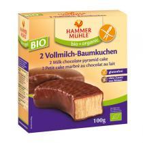 Hammermuehle - 2 Vollmilch-Baumkuchen 100 gr Bio