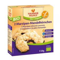 Hammermuehle - 2 Marzipan-Mandelhörnchen 150 gr Bio