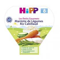 Hipp - Marmite de légumes Riz Cabillaud, 200g, dès 8 mois, de HiPP