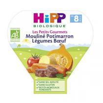 Hipp - Mouliné Potimarron Légumes Boeuf, 200g, dès 8 mois, de HiPP