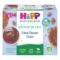 Hipp - Crème dessert Cacao 4x100g