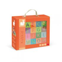 Janod - Kubkid - 32 cubes Alphabet