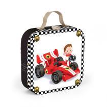 Janod - Valisette Puzzle La Formule 1 de Gabin
