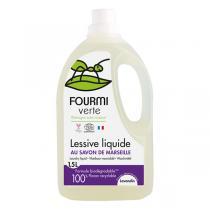 La fourmi Verte - Lessive liquide Lavande 1.5L