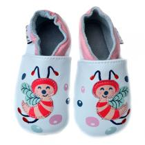 Lait et Miel - Baby Bee Leather Indoor shoes 0 - 24 Months