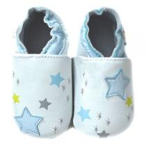 Lait et Miel - Baby Polar sky Leather indoor shoes