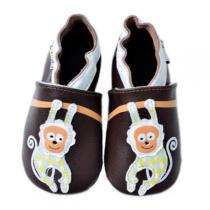 Lait et Miel - Pantofole in cuoio Singe 0-24 mesi