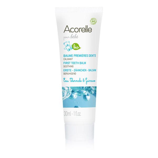 Acorelle - Baume premières dents calmant bio, 30ml, Acorelle
