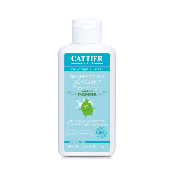 Cattier - Shampooing démêlant Kids- 200 ml