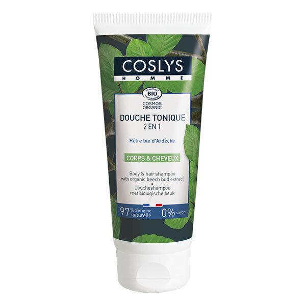 Coslys - Douche tonique corps et cheveux Homme 200ml