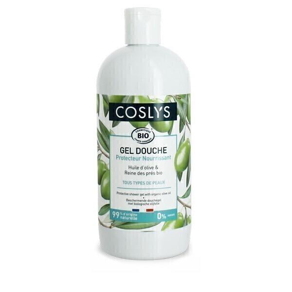 Coslys - Gel douche protecteur à l'huile d'olive 500mL