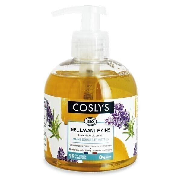 Coslys - Gel lavant mains Lavande citron 300ml