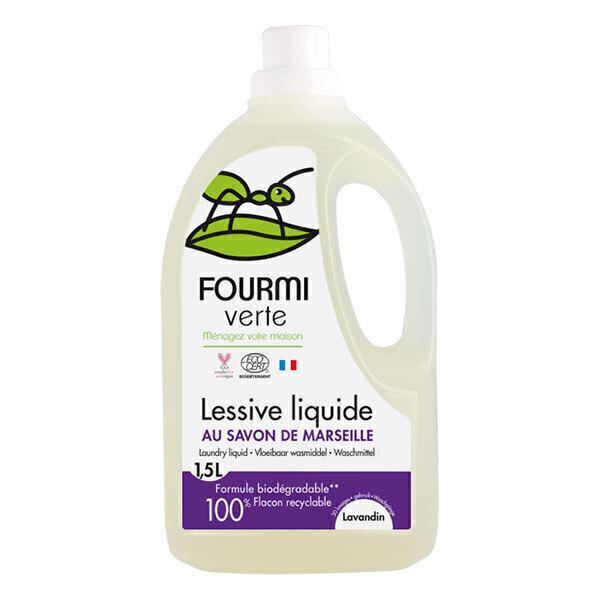lessive liquide lavande 1 5l la fourmi verte acheter sur. Black Bedroom Furniture Sets. Home Design Ideas