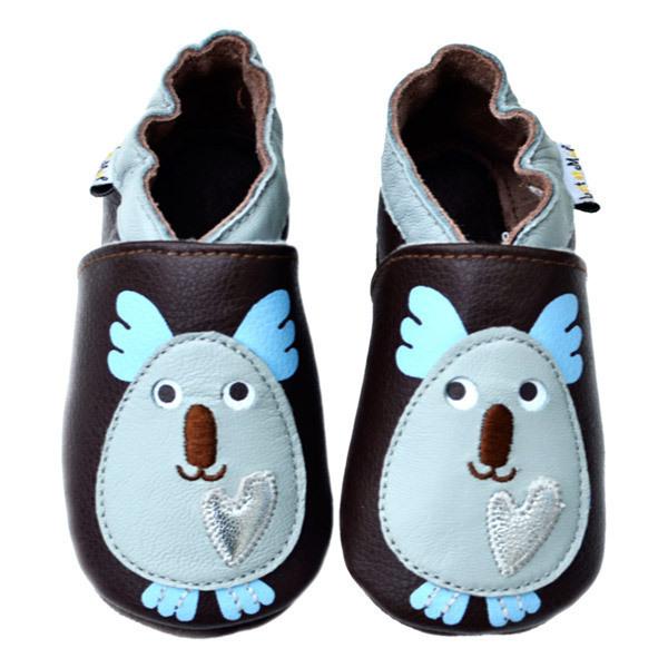 Lait et Miel - Koala Leather baby indoor shoes 0-24 months