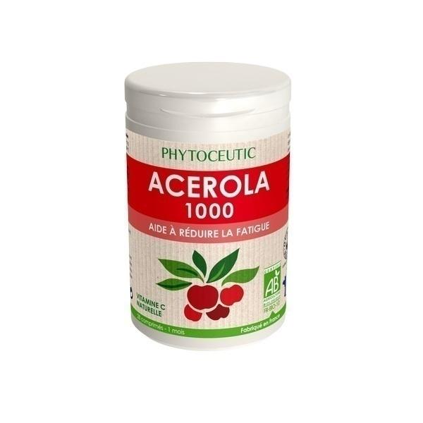 Phytoceutic - Acérola 1000 BIO - 28 Comprimés