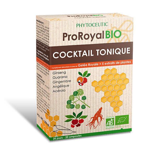 ProRoyal BIO - Cocktail Tonique BIO 20 Doses de 10mL