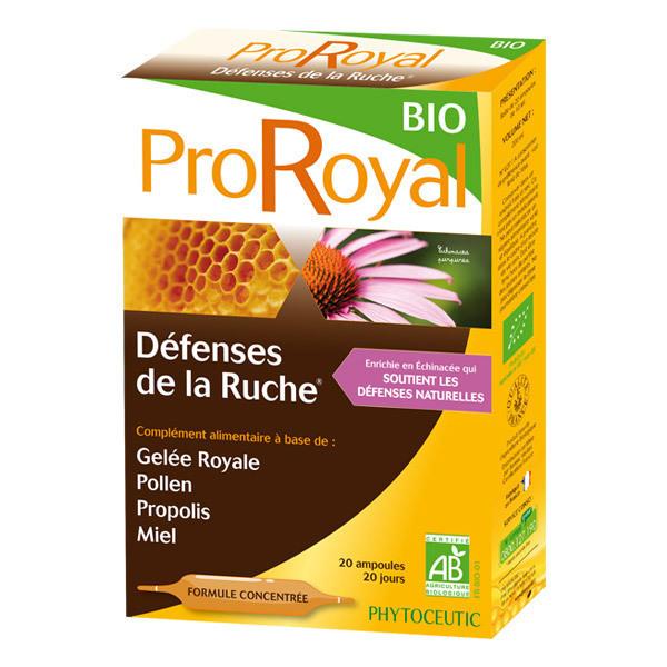 ProRoyal BIO - Défenses de la Ruche BIO 20 Doses