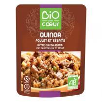 Bio par coeur - Quinoa blanc poulet sésame Bio 250g
