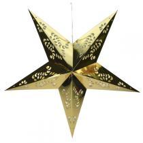 Blachère Illumination - Papierstern Weihnachtsschmuck gold