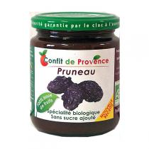 Confit de Provence - Confiture de Pruneau Allégée BIO 290g