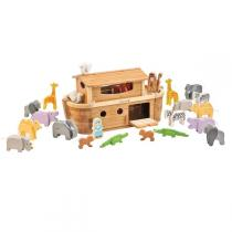 EverEarth - Large Bamboo Noah's Ark with Animals