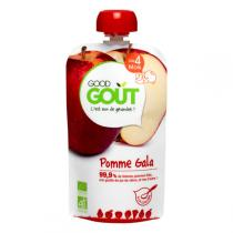Good Gout - Gourde de Fruits - Pomme Gala 120g