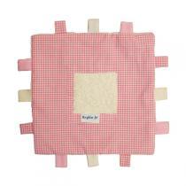 Keptin-Jr - Organic Baby Tag Comforter Blanket - Pink