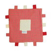 Keptin-Jr - Organic Baby Tag Comforter Blanket - Red