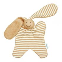 Keptin-Jr - Doudou grand Toddel rayé Chien Beige