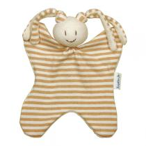 Keptin-Jr - Doudou grand Toddel rayé Fillette Beige