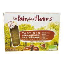 Le pain des fleurs - Tartine craquante à la Châtaigne 300g