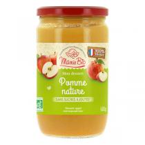 Mamie Bio - Purée pommes France sans sucres ajoutés 680g