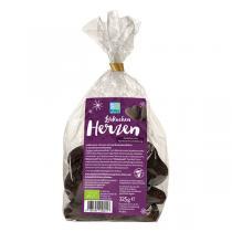 Pural - Cœurs chocolat noir, pain d'épices et abricot 125g