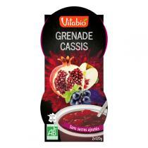 Vitabio - 2 Desserts Grenade Cassis Aronia Bio